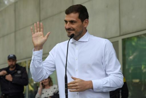 Iker Casillas anuncia su candidatura a la presidencia de la Federación Española de Fútbol