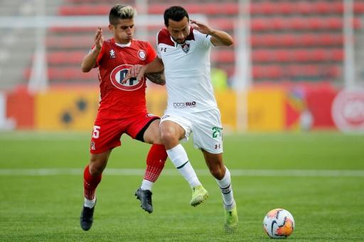 Unión La calera da el golpe ante Fluminense y avanza en la Sudamericana