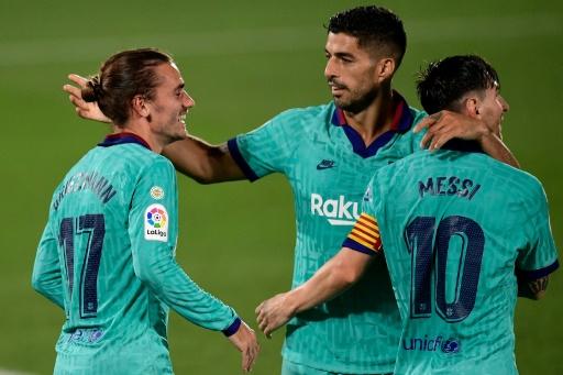 El Barça despierta y Setién respira