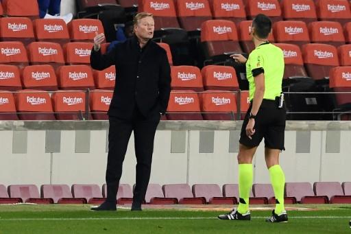 El partido contra el Sevilla 'nos ha dado mucha moral', asegura Koeman
