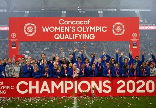 EEUU vence 3-0 a Canadá en final del Preolímpico femenino de la Concacaf