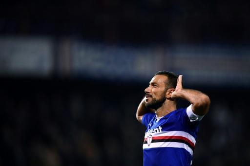 Quagliarella, a un partido de terminar máximo goleador en Italia