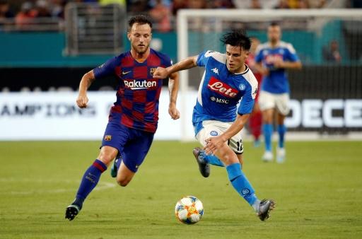 Barcelona vence 2-1 al Nápoles en amistoso en Miami