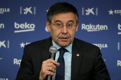 El Barcelona 'no ha contratado nunca un servicio para desprestigiar', dice su presidente
