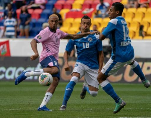 Bermudas vence 2-0 a Nicaragua en despedida de ambos de Copa Oro